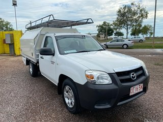 2011 Mazda BT-50 UNY0W4 DX 4x2 White 5 Speed Manual Cab Chassis.