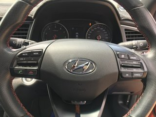 2016 Hyundai Elantra AD SR Turbo Orange 6 Speed Manual Sedan