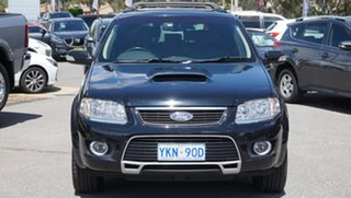 2010 Ford Territory SY MkII Ghia AWD Black 6 Speed Sports Automatic Wagon.