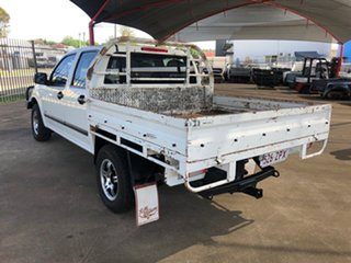 2005 Holden Rodeo RA LX White 5 Speed Manual Crew Cab Pickup