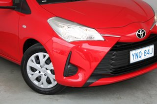 2019 Toyota Yaris NCP130R Ascent Red 4 Speed Automatic Hatchback