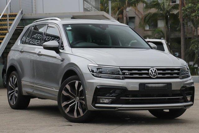 Used Volkswagen Tiguan 5NA MY19 162 TSI Highline, 2018 Volkswagen Tiguan 5NA MY19 162 TSI Highline Graphite 7 Speed Auto Direct Shift Wagon