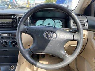 2004 Toyota Corolla ZZE122R Ascent Blue 5 Speed Manual Sedan
