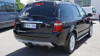 2010 Ford Territory SY MkII Ghia AWD Black 6 Speed Sports Automatic Wagon