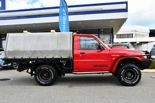 2006 Nissan Patrol GU II DX Red 5 Speed Manual Cab Chassis