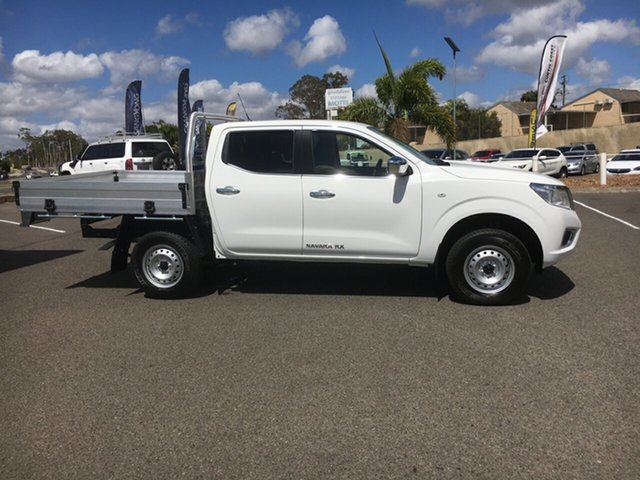 New Nissan Navara D23 S4 MY20 RX, 2020 Nissan Navara D23 S4 MY20 RX White 7 Speed Sports Automatic Cab Chassis