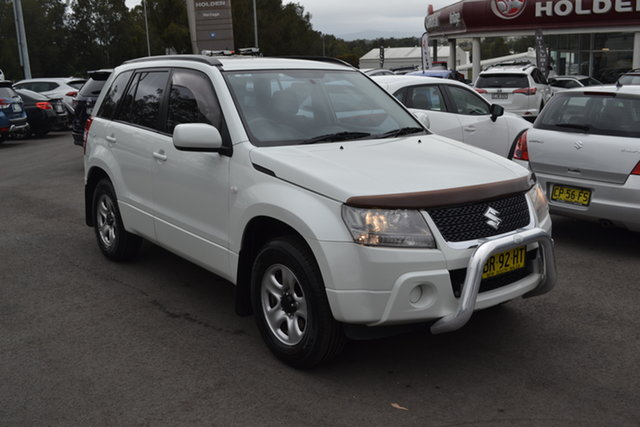 Used Suzuki Grand Vitara JB MY09 Urban, 2012 Suzuki Grand Vitara JB MY09 Urban White 4 Speed Automatic Wagon
