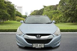 2010 Hyundai ix35 LM Highlander AWD Blue 6 Speed Sports Automatic Wagon.