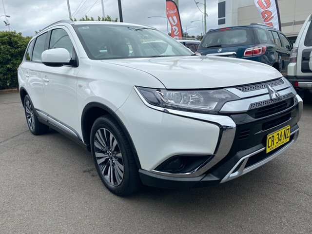 Used Mitsubishi Outlander ZL MY19 ES AWD, 2018 Mitsubishi Outlander ZL MY19 ES AWD White 6 Speed Constant Variable Wagon