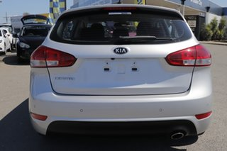 2016 Kia Cerato YD MY16 S Premium Silky Silver 6 Speed Sports Automatic Hatchback