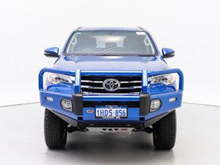 2018 Toyota Fortuner GUN156R MY18 GXL Blue 6 Speed Automatic Wagon.