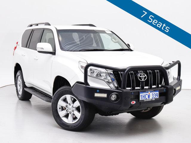 Used Toyota Landcruiser Prado GDJ150R MY17 GXL (4x4), 2017 Toyota Landcruiser Prado GDJ150R MY17 GXL (4x4) White 6 Speed Automatic Wagon