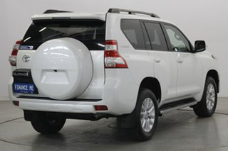 2013 Toyota Landcruiser Prado KDJ150R MY14 VX White 5 Speed Sports Automatic Wagon