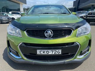 2015 Holden Ute VF II MY16 SV6 Ute Green 6 Speed Sports Automatic Utility.