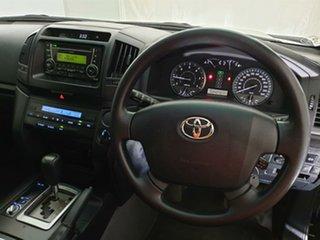 2016 Toyota Landcruiser VDJ200R GX Black 6 Speed Sports Automatic Wagon