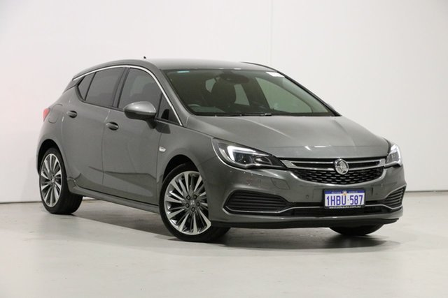 Used Holden Astra BK MY19 RS-V, 2019 Holden Astra BK MY19 RS-V Grey 6 Speed Automatic Hatchback