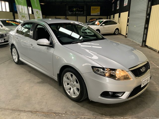Used Ford Falcon FG G6 Hampstead Gardens, 2010 Ford Falcon FG G6 Silver 5 Speed Automatic Sedan