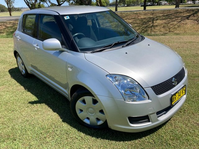Used Suzuki Swift RS415 , 2007 Suzuki Swift RS415 Silver 5 Speed Manual Hatchback