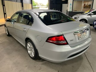2010 Ford Falcon FG G6 Silver 5 Speed Automatic Sedan