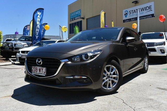 Used Mazda 3 BM MY15 Maxx, 2016 Mazda 3 BM MY15 Maxx Bronze 6 Speed Manual Hatchback