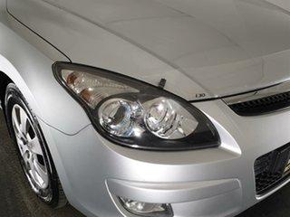 2010 Hyundai i30 FD MY10 SX Silver 5 Speed Manual Hatchback.