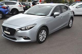 2018 Mazda 3 BN5478 Neo SKYACTIV-Drive Sport Silver 6 Speed Sports Automatic Hatchback.