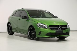 2018 Mercedes-Benz A180 176 MY18 Green 7 Speed Automatic Hatchback.