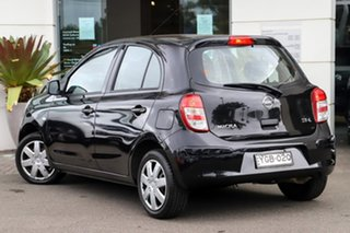 2011 Nissan Micra K13 ST-L Black 5 Speed Manual Hatchback.