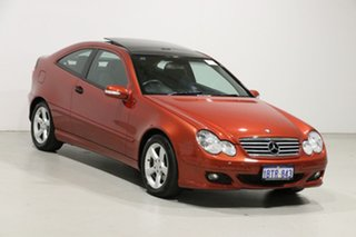 2004 Mercedes-Benz C180 CL203 Kompressor Red 5 Speed Auto Tipshift Coupe