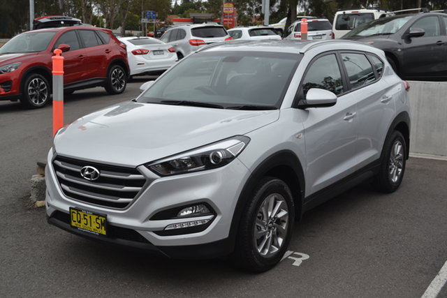 Used Hyundai Tucson TL2 MY18 Active 2WD, 2018 Hyundai Tucson TL2 MY18 Active 2WD Silver 6 Speed Sports Automatic Wagon