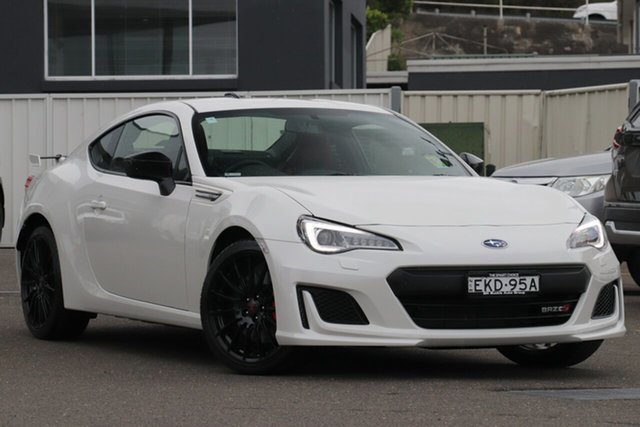 Demo Subaru BRZ Z1 MY20 TS, 2020 Subaru BRZ Z1 MY20 TS Crystal White Pearl 6 Speed Sports Automatic Coupe