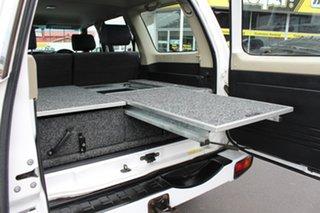 2005 Nissan Patrol GU IV MY05 ST-S Polar White 5 Speed Manual Wagon