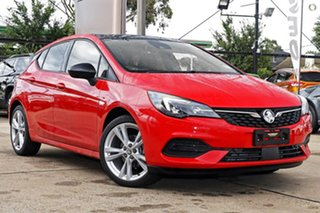 2020 Holden Astra BK MY20 RS-V Red 6 Speed Sports Automatic Hatchback.