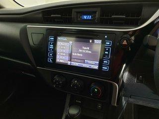 2017 Toyota Corolla ZRE172R Ascent S-CVT Burgundy 7 Speed Constant Variable Sedan
