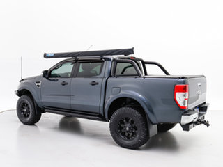 2012 Ford Ranger PX XLT 3.2 (4x4) Grey 6 Speed Manual Double Cab Pick Up