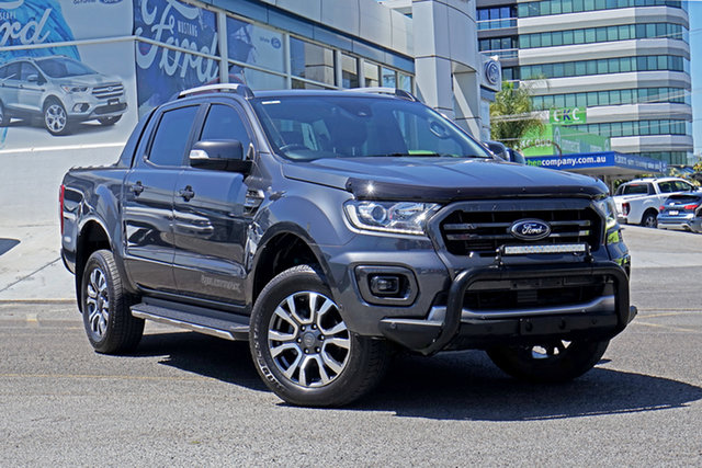 Used Ford Ranger PX MkIII 2019.00MY Wildtrak, 2019 Ford Ranger PX MkIII 2019.00MY Wildtrak Grey 10 Speed Sports Automatic Double Cab Pick Up