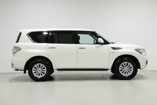 2018 Nissan Patrol Y62 Series 4 MY18 TI-L (4x4) White 7 Speed Automatic Wagon