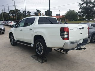 2019 Mitsubishi Triton MR MY20 GLS Double Cab White 6 Speed Manual Utility.