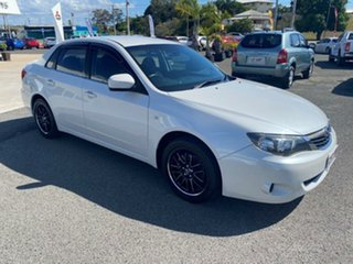 2008 Subaru Impreza G3 MY09 R AWD White 4 Speed Sports Automatic Sedan.