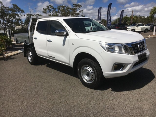 New Nissan Navara D23 S4 MY20 RX, 2020 Nissan Navara D23 S4 MY20 RX White 6 Speed Manual Cab Chassis