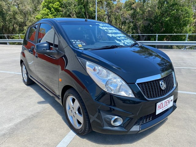 Used Holden Barina TK MY11 Morayfield, 2010 Holden Barina TK MY11 Black 5 Speed Manual Hatchback