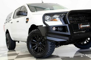2016 Ford Ranger PX MkII MY17 XL 3.2 (4x4) White 6 Speed Automatic Crew Cab Utility.