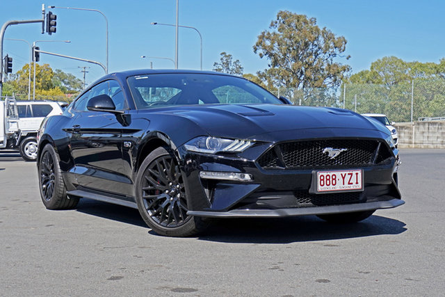 Used Ford Mustang FN 2018MY GT Fastback SelectShift Ebbw Vale, 2018 Ford Mustang FN 2018MY GT Fastback SelectShift Black 10 Speed Sports Automatic Fastback