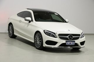 2017 Mercedes-Benz C300 205 MY17 White 9 Speed Automatic G-Tronic Coupe