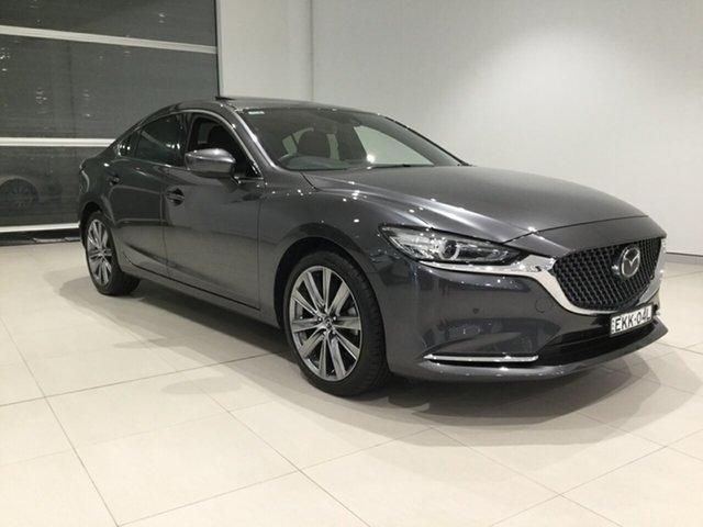 Used Mazda 6 GL1032 Atenza SKYACTIV-Drive, 2018 Mazda 6 GL1032 Atenza SKYACTIV-Drive Grey 6 Speed Sports Automatic Sedan