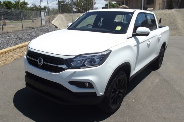 New Ssangyong Musso Q200 MY20 Ultimate Crew Cab, 2020 Ssangyong Musso Q200 MY20 Ultimate Crew Cab White 6 Speed Sports Automatic Utility