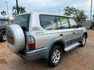 2000 Toyota Landcruiser Prado VZJ95R VX Silver 4 Speed Automatic Wagon
