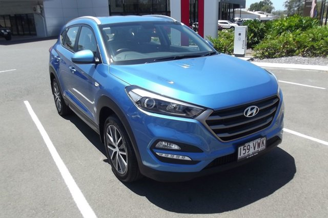 Used Hyundai Tucson TL Active X 2WD South Gladstone, 2015 Hyundai Tucson TL Active X 2WD Blue 6 Speed Sports Automatic Wagon