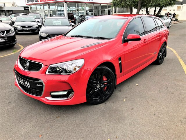 Used Holden Commodore VF II MY16 SS V Sportwagon Redline, 2016 Holden Commodore VF II MY16 SS V Sportwagon Redline Red 6 Speed Sports Automatic Wagon
