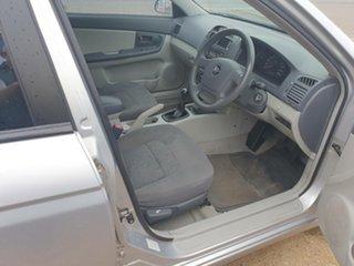 2006 Kia Cerato LD MY06 EX Silver 5 Speed Manual Hatchback